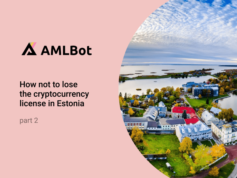 Check your partner not to lose crypto license in Estonia