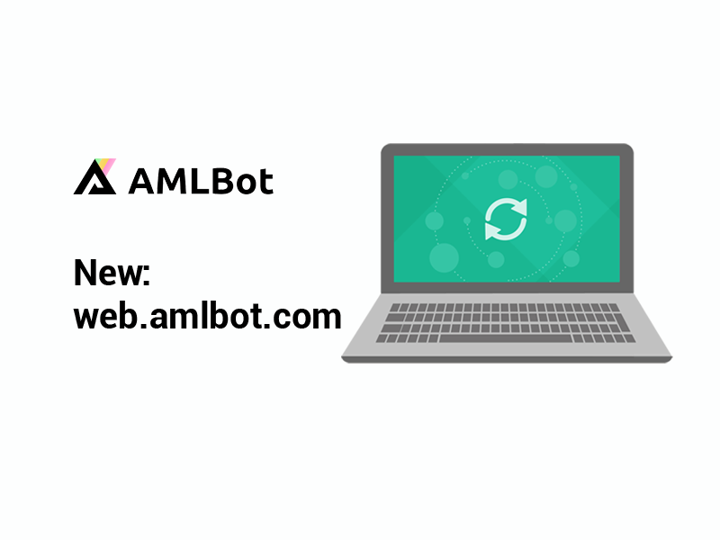 new website web.amlbot.com
